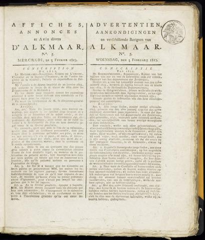 Alkmaarsche Courant 1813-02-03
