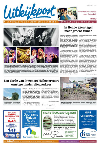 Uitkijkpost : nieuwsblad voor Heiloo e.o. 2018-10-31