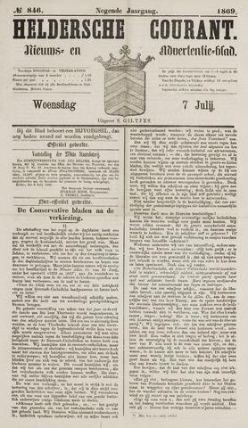 Heldersche Courant 1869-07-07