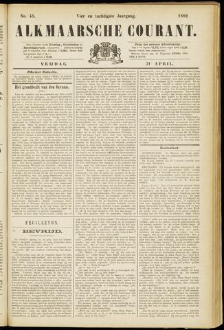 Alkmaarsche Courant 1882-04-21