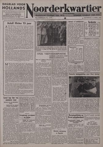 Dagblad voor Hollands Noorderkwartier 1942-04-18