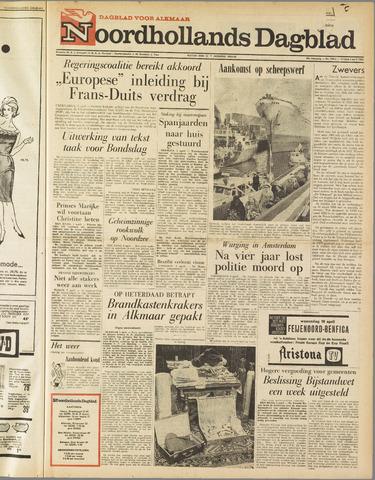 Noordhollands Dagblad : dagblad voor Alkmaar en omgeving 1963-04-05