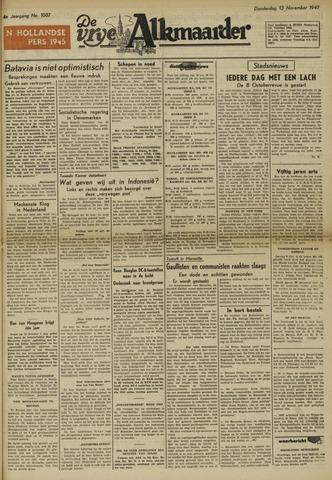 De Vrije Alkmaarder 1947-11-13