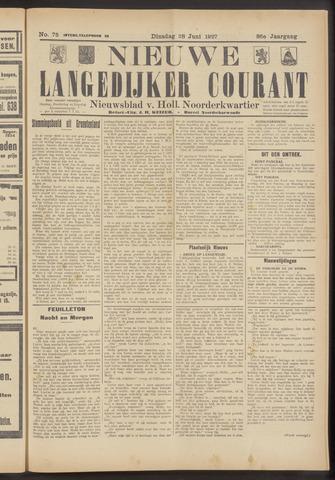 Nieuwe Langedijker Courant 1927-06-28