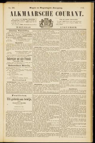 Alkmaarsche Courant 1897-11-03
