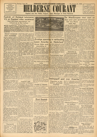Heldersche Courant 1949-04-02