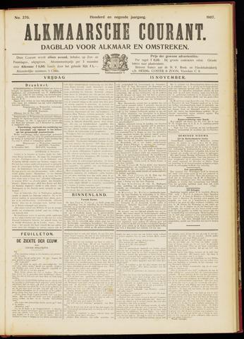 Alkmaarsche Courant 1907-11-15