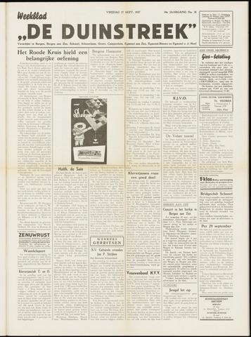 De Duinstreek 1957-09-27