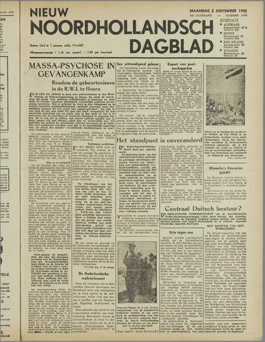 Nieuw Noordhollandsch Dagblad : voor Alkmaar en omgeving 1945-11-05