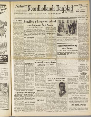 Nieuw Noordhollandsch Dagblad : voor Alkmaar en omgeving 1950-06-30