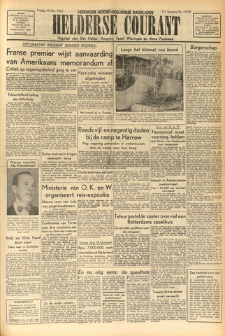Heldersche Courant 1952-10-10