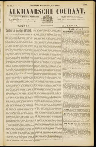 Alkmaarsche Courant 1899-01-29