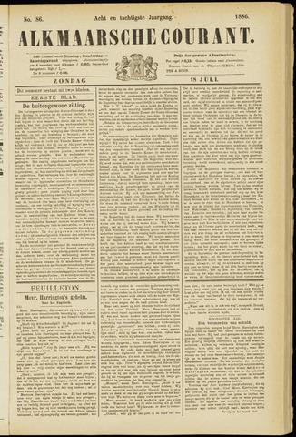 Alkmaarsche Courant 1886-07-18