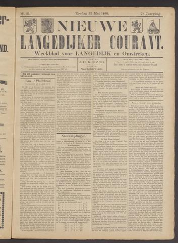 Nieuwe Langedijker Courant 1898-05-22