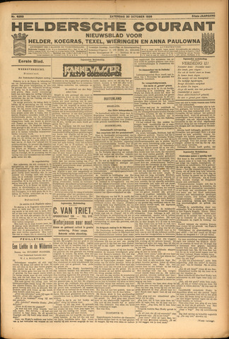 Heldersche Courant 1926-11-02