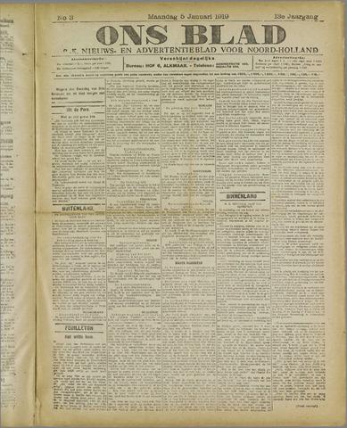 Ons Blad : katholiek nieuwsblad voor N-H 1920-01-05