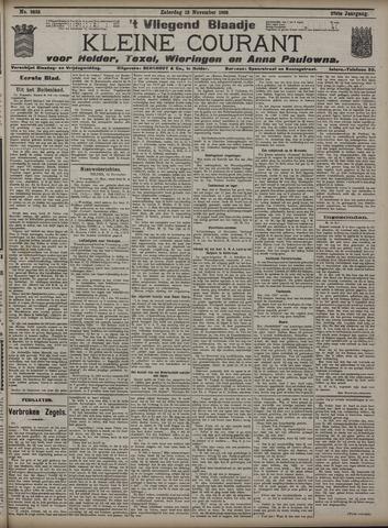 Vliegend blaadje : nieuws- en advertentiebode voor Den Helder 1909-11-13