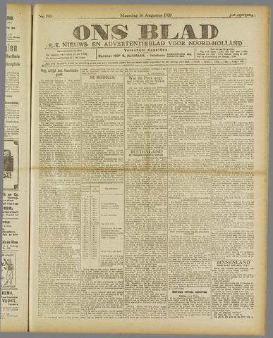 Ons Blad : katholiek nieuwsblad voor N-H 1920-08-16