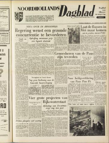 Noordhollands Dagblad : dagblad voor Alkmaar en omgeving 1954-12-08