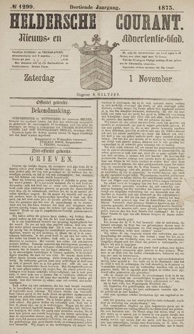 Heldersche Courant 1873-11-01
