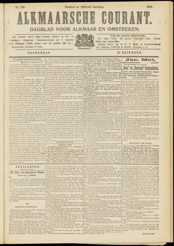 Alkmaarsche Courant 1913-12-11