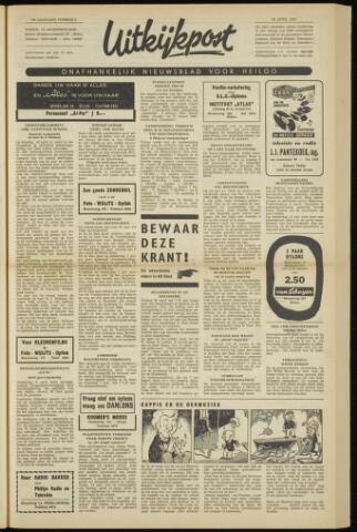 Uitkijkpost : nieuwsblad voor Heiloo e.o. 1962-04-26