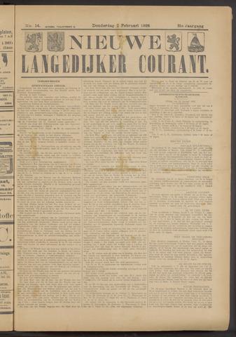 Nieuwe Langedijker Courant 1922-02-02