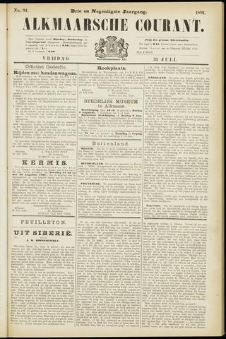 Alkmaarsche Courant 1891-07-31