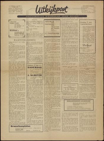 Uitkijkpost : nieuwsblad voor Heiloo e.o. 1956-06-08
