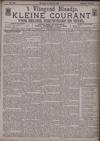 Vliegend blaadje : nieuws- en advertentiebode voor Den Helder 1887-08-31
