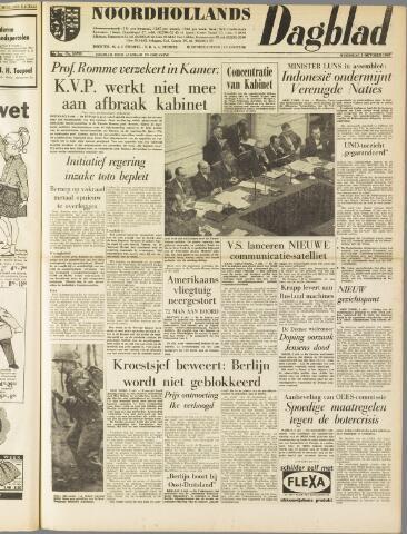 Noordhollands Dagblad : dagblad voor Alkmaar en omgeving 1960-10-05