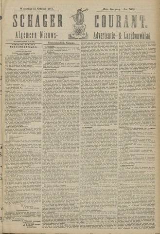 Schager Courant 1911-10-25
