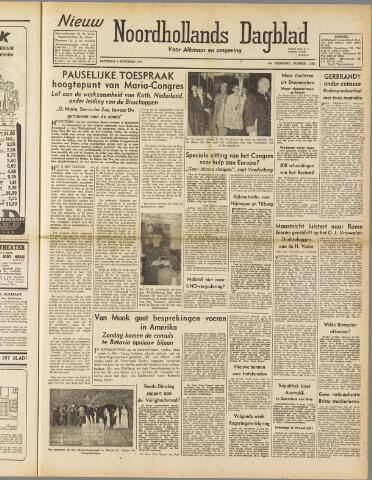 Nieuw Noordhollandsch Dagblad : voor Alkmaar en omgeving 1947-09-06