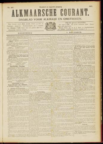 Alkmaarsche Courant 1907-12-05