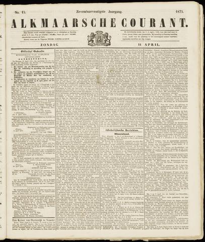 Alkmaarsche Courant 1875-04-11