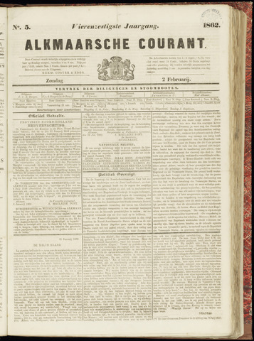 Alkmaarsche Courant 1862-02-02