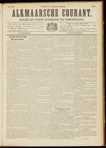 Alkmaarsche Courant 1907-11-30