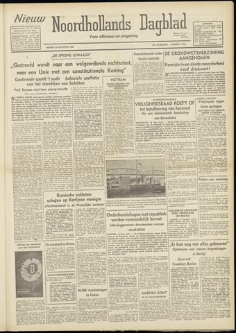 Nieuw Noordhollandsch Dagblad : voor Alkmaar en omgeving 1948-08-20