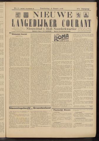 Nieuwe Langedijker Courant 1928-03-15