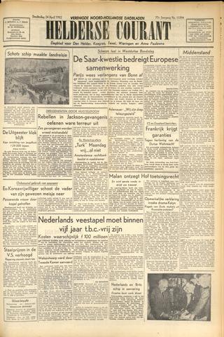 Heldersche Courant 1952-04-24