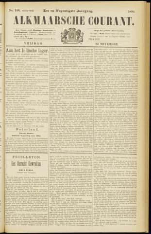 Alkmaarsche Courant 1894-11-23
