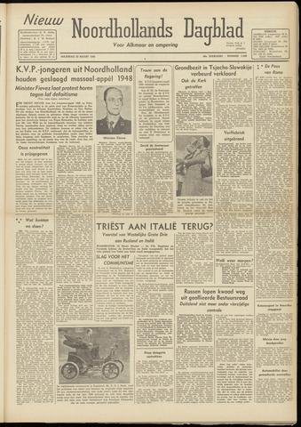 Nieuw Noordhollandsch Dagblad : voor Alkmaar en omgeving 1948-03-22