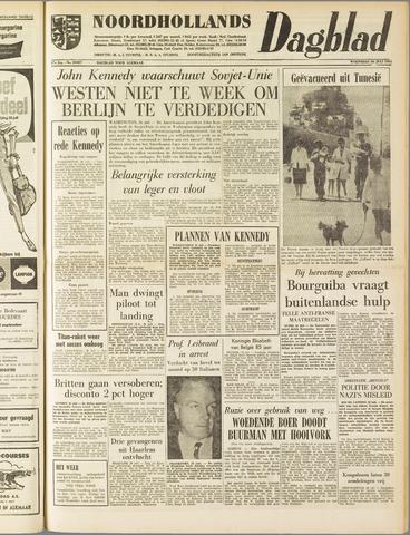 Noordhollands Dagblad : dagblad voor Alkmaar en omgeving 1961-07-26