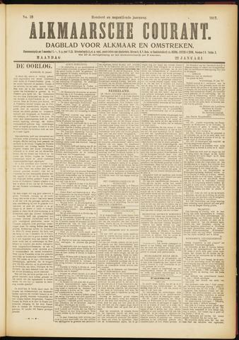 Alkmaarsche Courant 1917-01-22