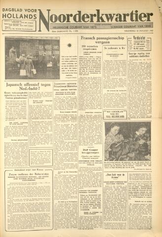 Heldersche Courant 1942-01-12