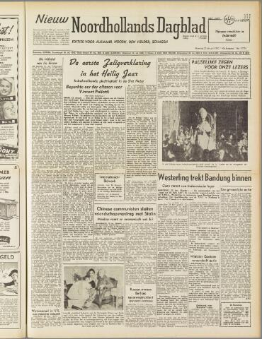 Nieuw Noordhollandsch Dagblad : voor Alkmaar en omgeving 1950-01-23