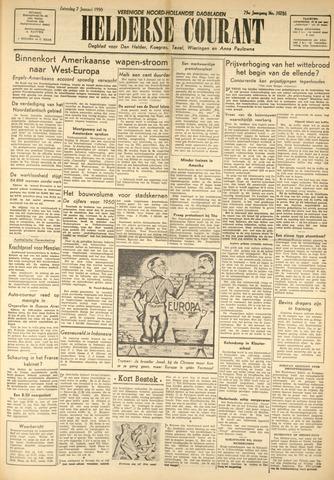 Heldersche Courant 1950-01-07