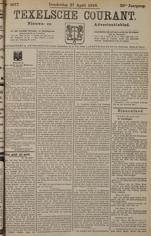 Texelsche Courant 1916-04-27