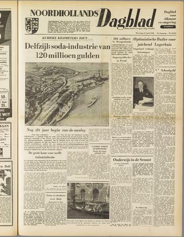 Noordhollands Dagblad : dagblad voor Alkmaar en omgeving 1953-04-15