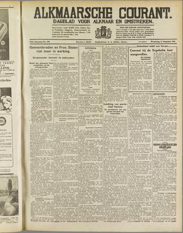 Alkmaarsche Courant 1941-08-13